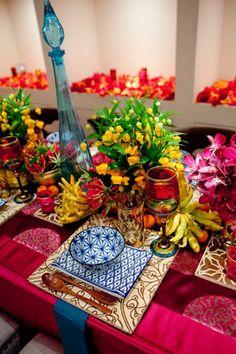 Bright & beautiful table setting.