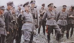 Generalfeldmarschall Walter Model with general der panzertruppe erhard raus.