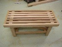 <p>Free plans to build a sturdy cedar bench or coffee table.</p>