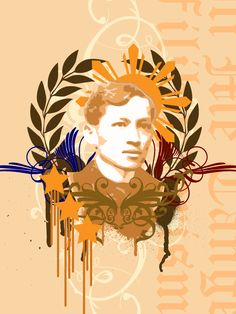 Second submission over the summer. I've always wanted to do one for our National Hero. I wanted to use his full name as the title but it doesn't fit. Filipino Art, Filipino Tattoos, El Filibusterismo, Images Wallpaper, Jose Rizal, Baybayin, Eagle Painting, Philippine Art, Laptop Wallpaper