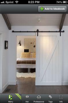 Facial room door