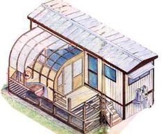 This practical, low-cost country living idea is to convert a mobile home into a portable greenhouse, includes diagrams and step-by-step instructions. From MOTHER EARTH NEWS magazine.