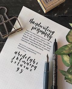 One of my fav PenmanshipPorn stars. Look at that adorable tiny writing! Best Script Fonts, Hand Lettering Fonts, Cursive Fonts, Handwritten Letters, Typography Quotes, Typography Inspiration, Typography Letters, Calligraphy Handwriting, Penmanship
