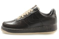 the latest 4c27d 997fe Nike Air Force 1 Homme SPRM Low Chaussures James Sombre Brun beige