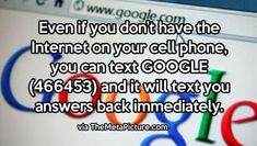 Google fact!!! I need to try this!