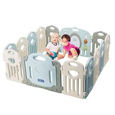 Baby Playpen - Kids 14 Panel Activity Centre Safety Play Yard Home Indoor Outdoor New Pen Toddler Playpen, Baby Playpen, Baby Safety, Child Safety, Kids Activity Center, Baby Items For Sale, Kids Yard, Curious Kids, Play Centre