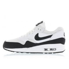 the best attitude 2e263 f27fc Nike WMNS Air Max 1 Essential (white   black   metallic silver) 599820-