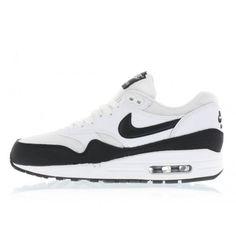 Nike WMNS Air Max 1 Essential (white / black / metallic silver) 599820-115