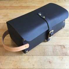 Leather Dopp Kit by BornOfTheAnvil on Etsy