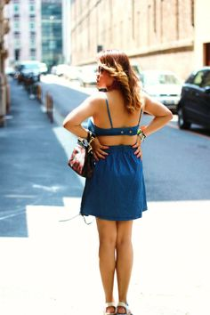 click for quick reads >>>http://www.themilanomode.com/2013/06/crop-denim-dress.html