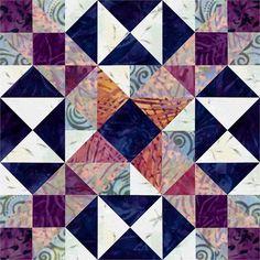 Indian Maze Quilt Block  http://lcscottage.wordpress.com/2012/12/28/indian-maze-quilt-block/