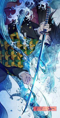 Demon slayer wallpapers ( Kimetsu no Yaiba ) wallpapers Otaku Anime, Anime Art, Anime Love, Anime Guys, Demon Slayer, Slayer Anime, Demon Manga, Estilo Anime, Fanarts Anime