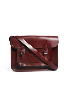 Oxblood Cambridge Satchel