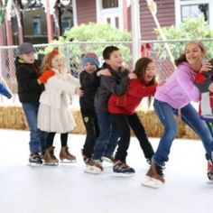 City of Snoqualmie Winter Magic Celebration Ice Rink
