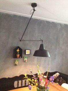 It's About RoMi Wandlamp Chicago Zwart - Designwonen.com | Meubelen & verlichting Loft Lighting, Dining Room Lighting, Condo Living, Home Living Room, Electrical Fixtures, It's About Romi, Happy New Home, Shine Your Light, Wall Lights