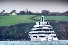 Rich Kids Spotted   Image   The 106m superyacht Amadea captured by thr SYT team in Falmouth last year. Photo by @superyachttimes