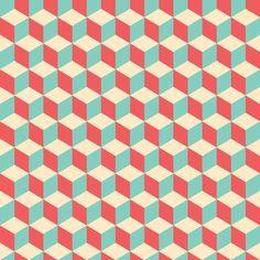 Papel de parede adesivo - Estampa geométrica