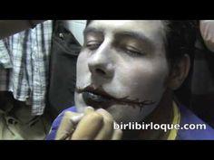 Disfraces Birlibirloque Maquillaje de Payaso Maléfico V - YouTube