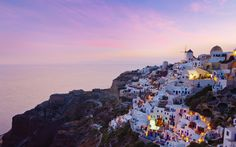 "travelchannel: "" The Cyclades, Santorini, Greece (via Daily Escape: Travel Channel) "" Oh The Places You'll Go, Places To Travel, Places To Visit, Cheap European Destinations, Holiday Destinations, Santorini Island, Santorini Greece, Imerovigli Santorini, World's Most Beautiful"