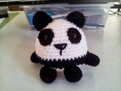 Cómo hacer un panda de crochet