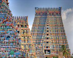 スリランガム寺院(インド)