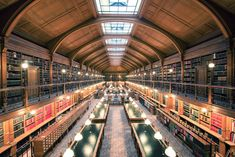 New Magnificent Photos of Beautiful Libraries around the World - My Modern Met