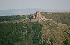 Jvari or Jvari Monastery (Georgian: ჯვარი, ჯვრის მონასტერი) is a Georgian Orthodox monastery of the 6th century near Mtskheta (World Heritage site), Mtskheta-Mtianeti region, eastern Georgia. The name is translated as the Monastery of the Cross.