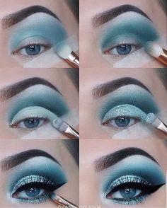 23 Natural Smokey Eye Makeup Make You Brilliant eye makeup tut. - 23 Natural Smokey Eye Makeup Make You Brilliant eye makeup tutorial; eye makeup f - Dramatic Eye Makeup, Purple Eye Makeup, Eye Makeup Steps, Glitter Eye Makeup, Eye Makeup Art, Makeup For Green Eyes, Smokey Eye Makeup, Makeup Tips, Makeup Ideas