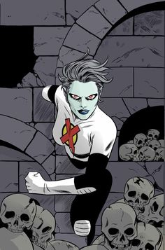 """comic-book-ladies: """"Dead Girl by Mike Allred """" Marvel - X-Men Marvel Comics, Marvel Heroes, Marvel Dc, Marvel Girls, Girls Characters, Marvel Characters, Cartoon Characters, Mike Allred, Comic Art Community"""