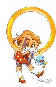 Realistic Sonic Characters | Cream
