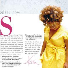 HGTV Design Star winner Kim Myles' curls Hgtv Designers, Hopes And Dreams, Natural Hair Inspiration, Afro Hairstyles, Hair Pins, Curls, Natural Hair Styles, Pure Products, Celebrities