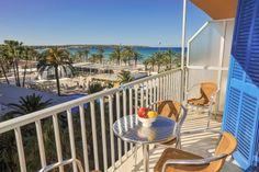 Ferienwohnung am Strand, der #Playa de Palma in #El Arenal Objekt Id: 2599 Perfekt für einen entspannten Strandurlaub!