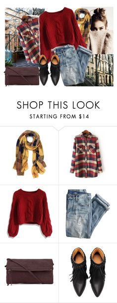 """""""simple"""" by tuilindo ❤ liked on Polyvore featuring Chicwish, J.Crew, Yvonne Koné, black, shoes, jeans and sweaterweather"""
