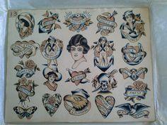 Tattoo Flash Sheet, Tattoo Flash Art, Tattoo Art, Pin Up, Sailor Tattoos, Traditional Tattoo Flash, Vintage Flash, American Tattoos, American Traditional