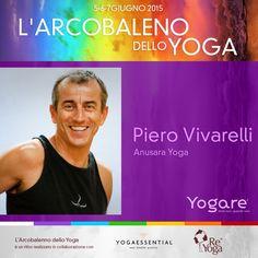 Piero Vivarelli terrà una lezione di Anusara Yoga la mattina del secondo giorno di ritiro. Info