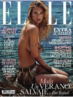 Bar Refaeli for Elle España, June 2014