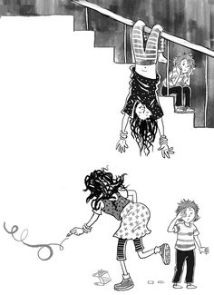 Crazy Mum - Chantelle and Burgen Thorne Bookstagram, Childrens Books, Illustrators, Cartoon Family, Dots, Teaching, Black And White, Gallery, Drawings