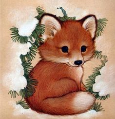 Милые зверики от художницы Ruth Morehead