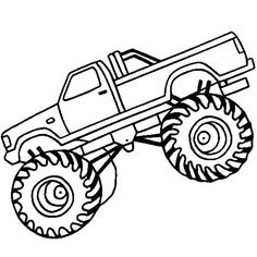20 best monster truck coloring pages