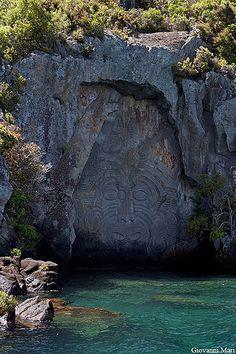 Maori Carvings, Lake Taupo - New Zealand www.mytravelswithmymum.com