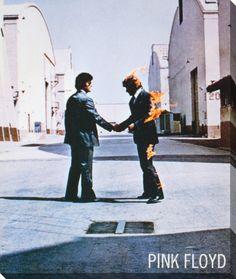 オールポスターズの「Pink Floyd: Wish You Were Here」キャンバスプリント
