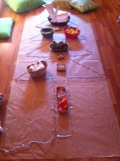 """Christmas Tree transient art provocation - love it!... image shared by Asilo Nido BIANCONIGLIO, Infernetto ("""",)"""