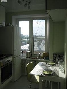 Кухня-гигант. 5.4 кв. метра