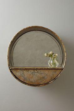 Industrialist Mirror Shelf - anthropologie.com