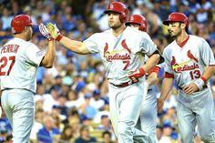 Cardinals vs. Dodgers: Game 1 from 2014 MLB Playoffs