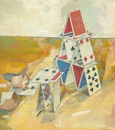 Anthony Springford, House of Cards (giclee print, 2014)