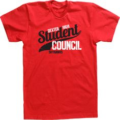 custom t shirt tee design high school student council athletic design