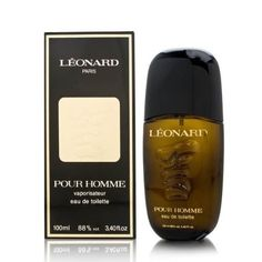 Leonard by Leonard for Men. 3.4 Oz Eau De Toilette Spray by Leonard. $45.00. Packaging for this product may vary from that shown in the image above. All our fragrances are 100% originals by their original designers. We do not sell any knockoffs or immitations.. We offer many great sales and discounts making this fragrance cheaper than at department stores.. Leonard Cologne for Men Eau De Toilette Spray 3.3 Oz. Eau De Toilette Spray 3.3 Oz for Men. Leonard Cologne Eau De Toilette ...