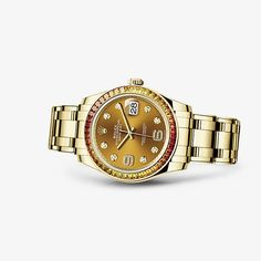 The Oyster Perpetual Pearlmaster is Rolex's crowning jewellery watch.