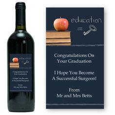 Graduation Personalised Wine